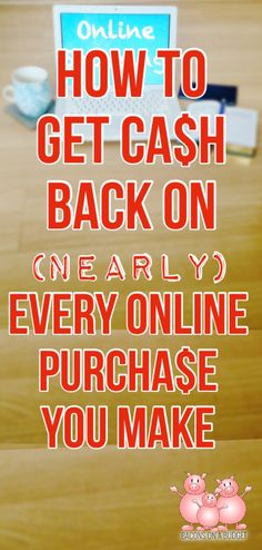 Why not get cash back on purchases you're already going to make?  I'll never online shop again without using this trick!