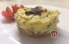 Cheesecake Salato con zucchine e pomodori secchi: http://www.ingusto.it/ricette/antipasti/2095-mini-cheesecake-salati-con-zucchine-e-pomodori-secchi.html