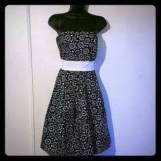 Pretty Strapless Dress