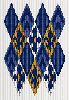 In Progress: Silk Cegła Stitch Bag | Compleatly Ubrany Anachronist