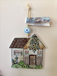 Tile Art, Mosaic Art, Ceramic Bowls, Ceramic Pottery, Wood Crafts, Diy And Crafts, Clay Houses, Air Dry Clay, Art Model