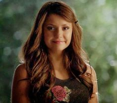 The Vampire Diaries: Elina's Innocent Smile - Nina Dobrev - The ...