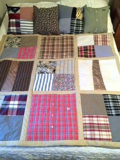 Simple Lap Quilt Tutorial Free Modern Lap Quilt Patterns Pillows And Memory Quilt Made From A Loved Ones Shirts Simple Lap Quilt Patterns Free