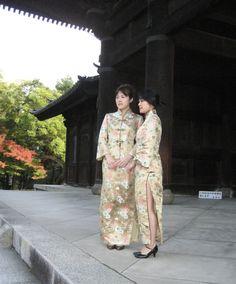 参拜了南禅寺の画像 | 旗袍和亚州民族衣服