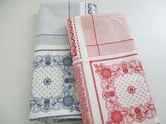 ▲綿(コットン) - 商品詳細 シーチングプリント バンダナ スクエア 112cm巾/生地の専門店 布もよう