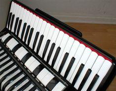 AccordionLab Accordion Instrument, Piano Accordion, 1980s, Music Instruments, Musica, Musical Instruments