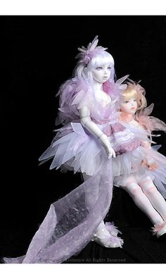 DOLLMORE BJD NEW Lusion Doll - Ice Dahlia & Snow Dahlia