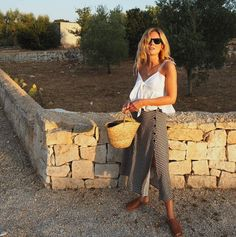 """9,738 Likes, 87 Comments - Lucy Williams   Fashion Me Now (@lucywilliams02) on Instagram: """"Second night in pretty Puglia. (First night was spent nursing takeaway pizza, beer and greasy hair…"""""""