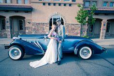 Luxury wedding car - 1936 Auburn Roadster