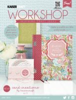June 2015 Kaisercraft Workshop Idea Books - They go back many months so there are LOTS of other issues and ideas.