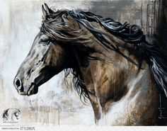 horse - Схемы вышивки - Myoung - Авторы - Портал «Вышивка крестом»