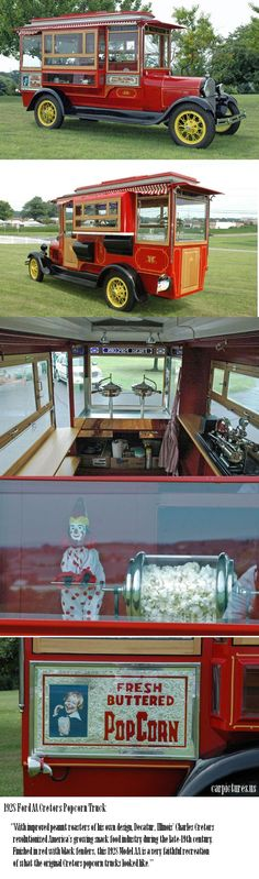 1928 Ford AA Cretors Popcorn Truck, need one of these trucks for my wife and daughter.lol!