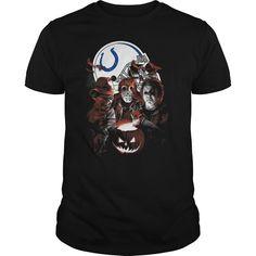 Indianapolis Colts Halloween Scream Team Shirt