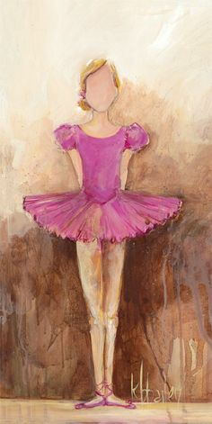 """Belle of the Ballet - Pink"" Canvas Wall Art from Oopsy Daisy, Fine Art for Kids. Multiple sizes and framing options available. Browse our entire collection of wall art for kids!"