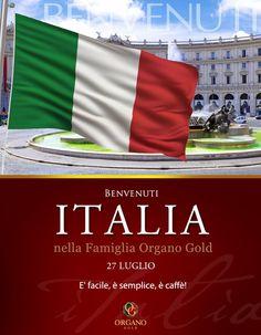 Apertura ORGANO GOLD ITALIA