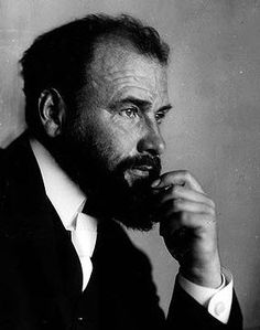 A photo of Gustav Klimt, circa 1908, ten years before his death by a stroke during the terrible 1918. Spanish flu (one of the worst pandemic of the History - Gustav Klimt Bio