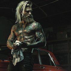 #Follow @tattooedboys and my homie @spizoiky ⚡️