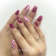 #gelish #gelishdesign #stutturagel #nails #nailART #flower