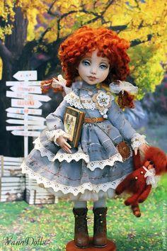 Коллекционные куклы ручной работы. Дженни. YanaDolls. Интернет-магазин Ярмарка Мастеров. Кукла ручной работы, авторская ручная работа
