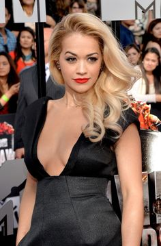 Rita Ora at the MTV Movie Awards