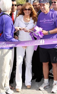 Celebrities supporting the March of Dimes
