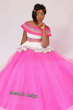 Venda Traditional Attire, Sepedi Traditional Dresses, African Traditional Wedding Dress, African Fashion Traditional, Traditional Wedding Attire, African Print Dress Designs, African Print Dresses, African Fashion Dresses, African Dress