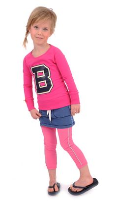 3/4 Legging pink Br@nd for girls summer 2016 www.brandforgirls.nl