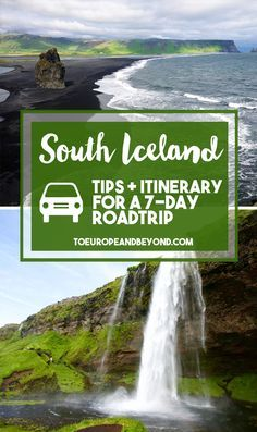 If you too only are one of the millions of North Americans who can only afford a few days in Iceland and want to cram in as many sights as possible, you'll want to read the itinerary below, which took me from Reykjavik to the Jokusarlon glacier lagoon and back. http://toeuropeandbeyond.com/south-iceland-road-trip-7-day-itinerary/ #travel #Iceland