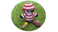 #Amigurumi Pirate by Eden Dintsikos - This pattern is available as a free Ravelry download. So first of all to be able to make this doll you'll need to know the basics of how to crochet.  For more information, see: http://youtu.be/agiJ2XBsRTw