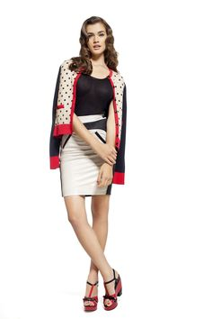 Office Wear Pinup Polka Dots Fashion Trends Natalia Oreiro Spring Summer Mariage Party Dresses My Style