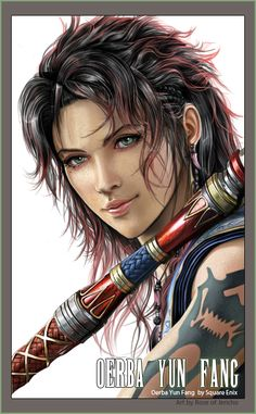 Oerba Yun Fang by ~Akima-Hawa-Nedegie on deviantART (The only thing I liked in FFXIII....)