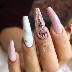 18 Pink and White Nails Designs for a Popular and Classic Mani Look ★ Beautiful Light Pink Nails for Classy Look Picture 4 ★ See more: http://glaminati.com/pink-and-white-nails/ #pinkandwhitenails #pinkwhitenails #lightpinknails