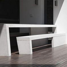 Sitzgruppe- Concreto Entryway Tables, Concrete, Design, Outdoor, Furniture, Home Decor, Sofa Set, Shelf, Products