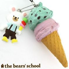 THE BEAR SCHOOL ICE CREAM
