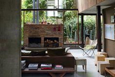 Una casa de madera y hormigón | dintelo.es