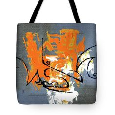 Tote Bag featuring the painting Modern Abstract_1 by Rupam Shah