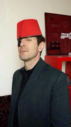 8th Doctor Who Paul McGann in a fez. Embedded image permalink