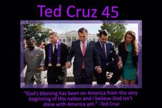Join us on Facebook: Ted Cruz 45
