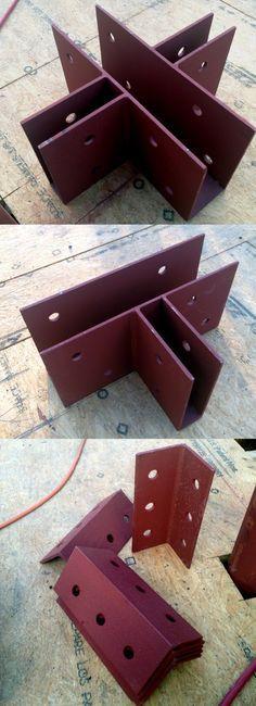 custom metal brackets - secret construction techniques