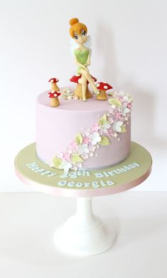 Gorgeous Fairy Toadstool Cake - Sweetie Darling Cakes