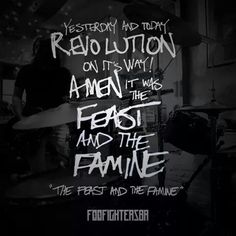 The feast and the famine Foo Fighters  Sonic Highways