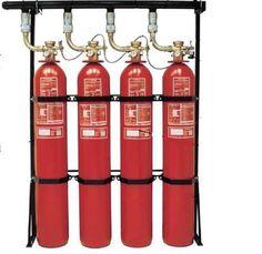 Halon Fire Extinguisher System.