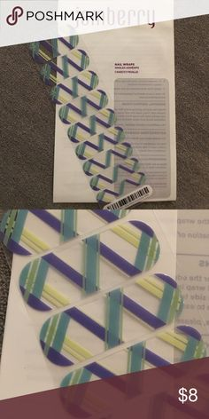 July Host Exclusive Jamberry half Half sheet in white package. Jamberry Other