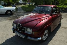 red Saab 96 by triinustock