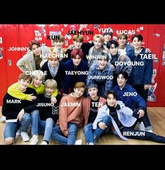For new nctzens❤ it's not that hard :). Nct 127 Members, Nct Dream Members, Got7 Jackson, Jackson Wang, Winwin, Taeyong, Jaehyun, Korean Phrases, Young K