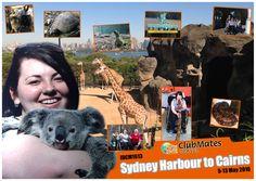 IDCM1613 Sydney Harbour to Cairns - Album Page Design