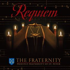 The FSSP  has added a new CD to their superb collection of CDs!  Requiem  is the latest addition  ( available for pre-order now here ) ...