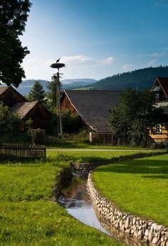 village near the Tatras Mountain