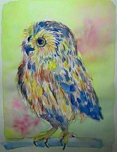Owl Art, Bird, Inspiration, Painting, Animals, Biblical Inspiration, Animales, Animaux, Birds
