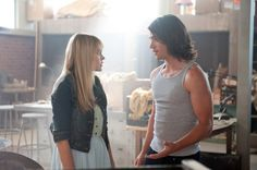 'Prom' — Aimee Teegarden and, Thomas McDonell--look at his arms! Thomas Mcdonell, Jake Lacy, Prom 2011, Disney Blu Ray, Disney Prom, Shannara Chronicles, Aimee Teegarden, Cameron Monaghan, Movie Couples